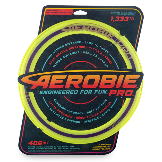 Aerobie Pro 33cm Flying Ring - Yellow