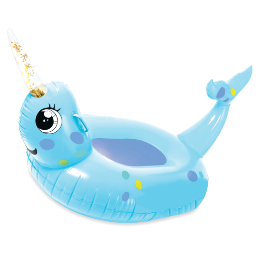 Inflatable Giant 105cm Pool Toy - Narwhal