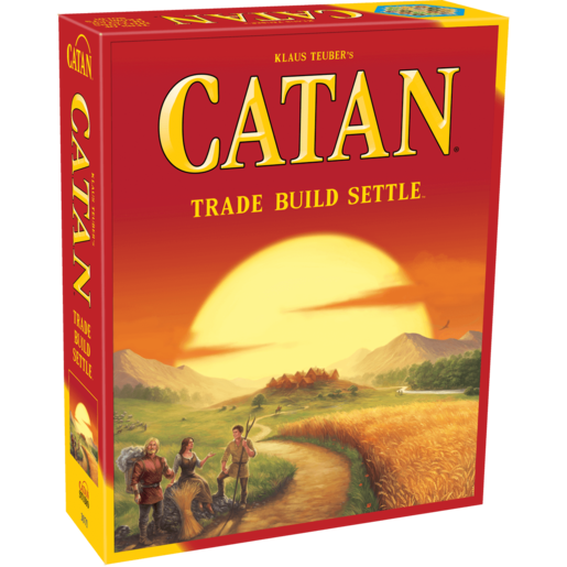 Catan - Trade Build Settle Game