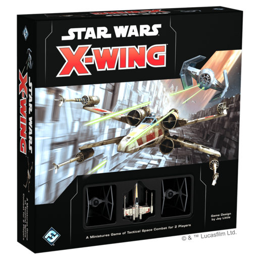 Star Wars X-Wing Core Set Second Edition Game