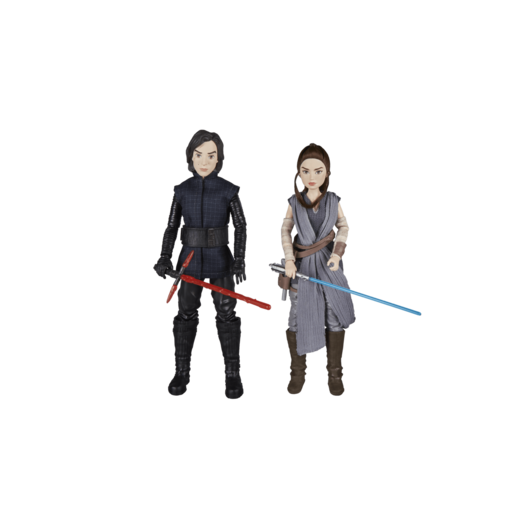 Star Wars Forces of Destiny 2 Pack Action Figures - Rey and Kylo Ren
