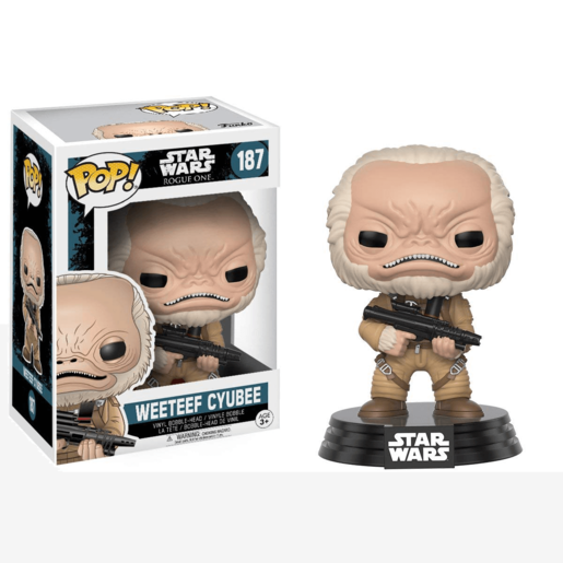 Funko Pop! Movies: Star Wars Rogue One W2 -  - Weeteef Cyubee