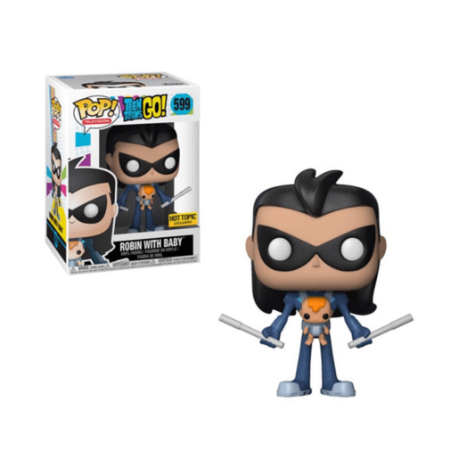 Funko Pop! Television: Teen Titans Go! - Robin With Baby