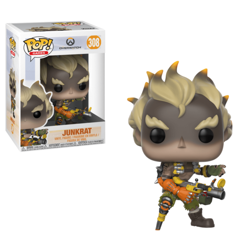 Funko Pop! Games: Overwatch - Junkrat