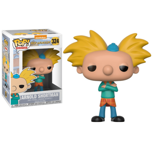 Funko Pop! Animation: Hey Arnold - Arnold Shortman