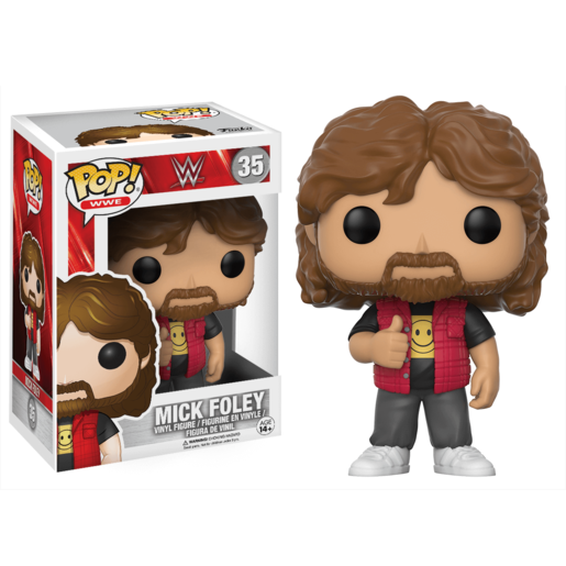 Funko Pop! WWE Series 5 - Mick Foley Old School