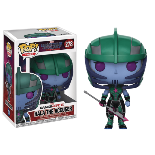Funko Pop! Games: Marvel Guardians of the Galaxy - Hala the Accuser