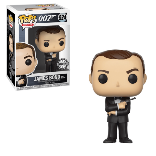 Funko Pop! Movies: James Bond (Sean Connery)
