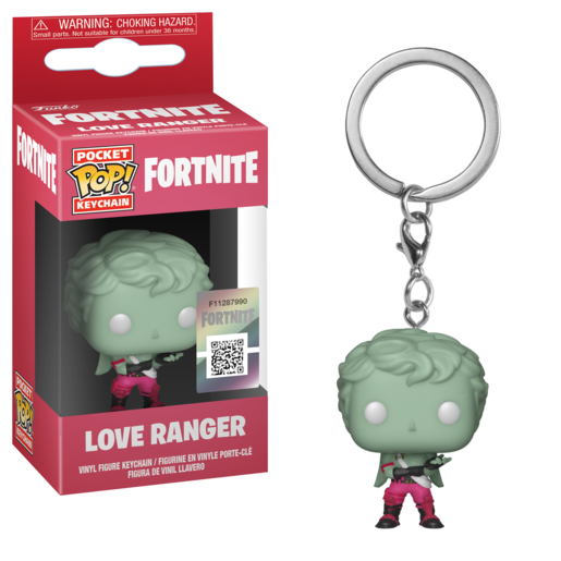 Funko Pocket Pop!: Fortnite Keychain - Love Ranger