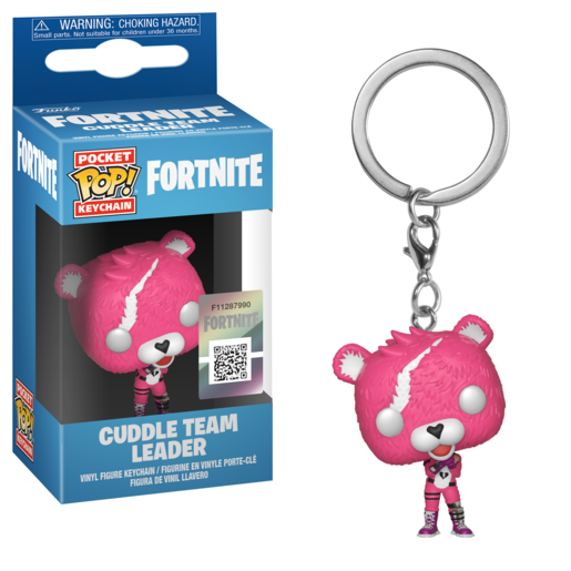 Funko Pocket Pop! Fortnite Keychain - Cuddle Leader
