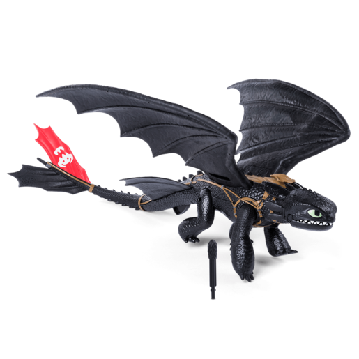 DreamWorks Dragons - Interactive Barrel Roll Toothless Dragon