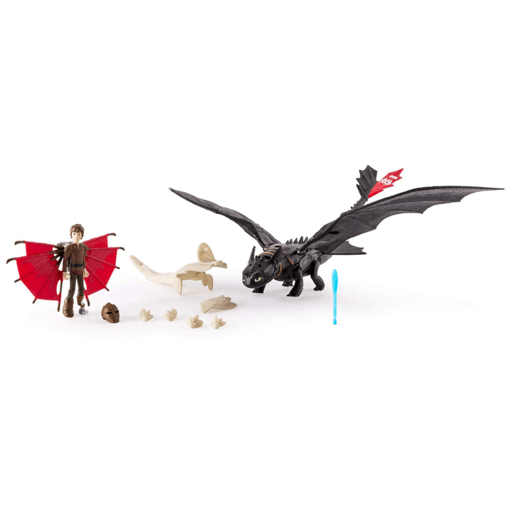 DreamWorks Dragons - Toothless and Hiccup Armoured Dragon