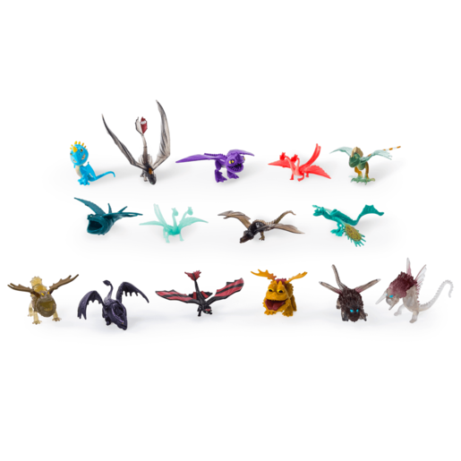 DreamWorks Dragons - 15 Pack Battle Dragons