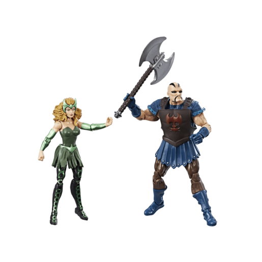 Marvel Legends Thor Ragnarok 10cm Action Figures - Executioner and Marvel's Enchantress