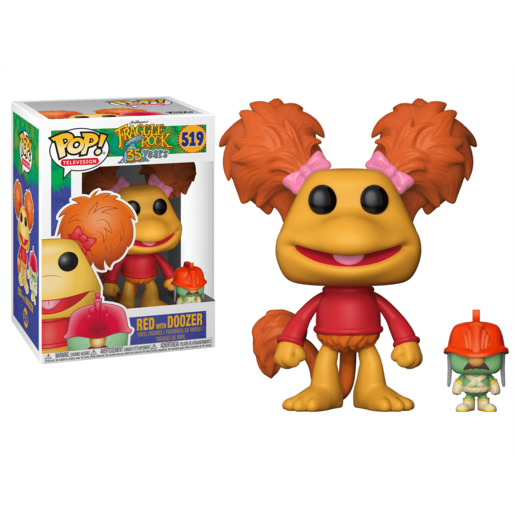Funko Pop! Television: Fraggle Rock 35th Anniversary - Red with Doozer