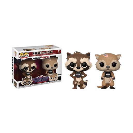 Funko Pop! Games: Marvel Guardians of the Galaxy - Rocket and Lylla