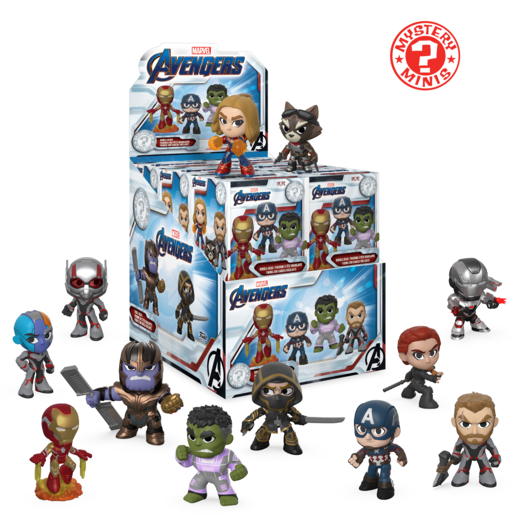 Funko Mistery Minis - Marvel Avengers Endgame (One Figure Supplied)