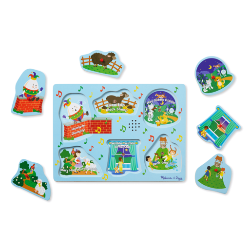 Melissa and Doug Sing-Along Nursery Rhymes 2 - Sound Puzzle