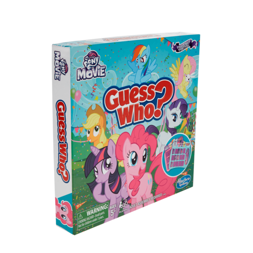Guess Who? Game - My Little Pony Edition