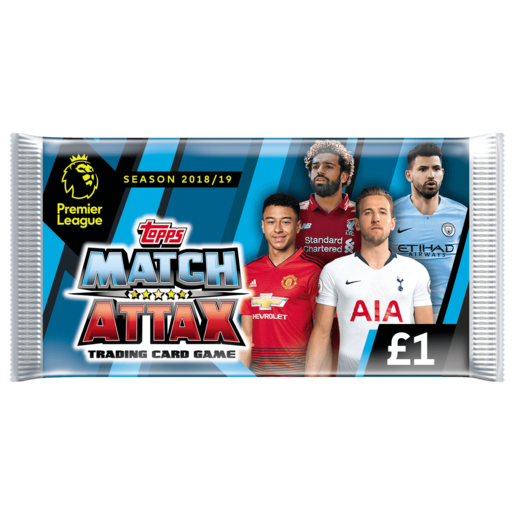 Match Attax Premier League Trading Card Game - 50 packs Cards Bundle