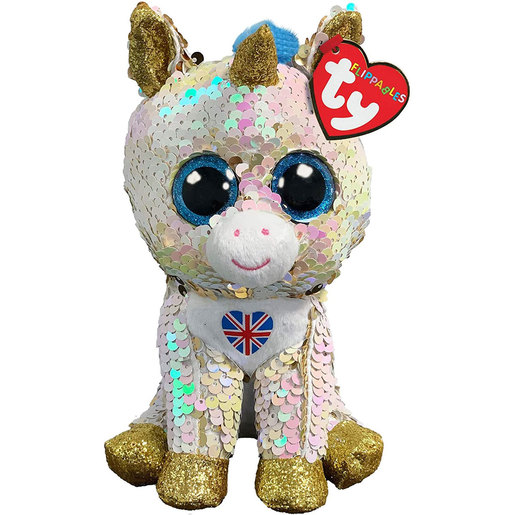 Ty Flippables 15cm Soft Toy - Royal