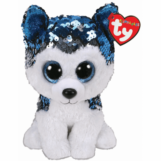 Ty Flippables 15cm Soft Toy - Slush Husky