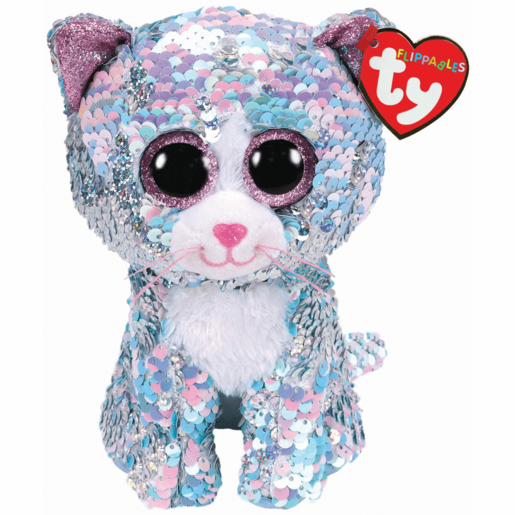 Ty Flippables 15cm Soft Toy - Whimsy The Cat