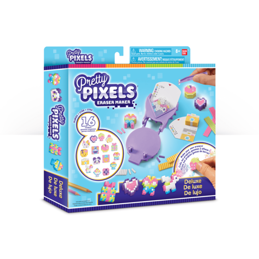 Pretty Pixels Eraser Maker - Deluxe Pack