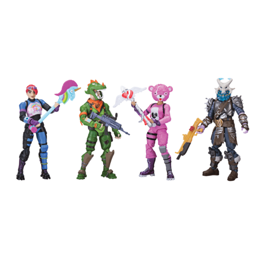 Fortnite Squad Mode 4 Figure Pack