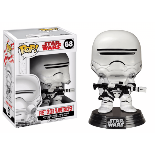 Funko Pop! Movies: Star Wars - First Order Flametrooper