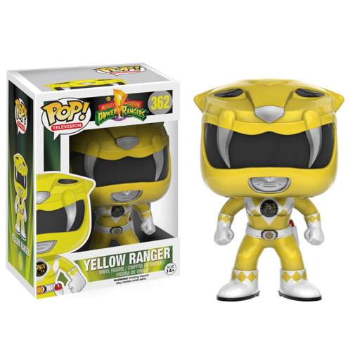 Funko Pop! Television: Power Rangers - Yellow Ranger