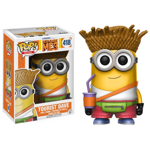 Funko Pop! Movies: Despicable Me 3 - Tourist Dave