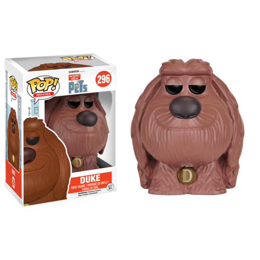 Funko Pop! Movies: The Secret Life of Pets - Duke