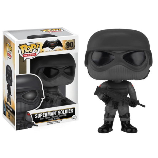 Funko Pop! Heroes: Batman Vs Superman - Superman Soldier