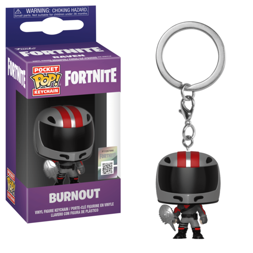 Funko Pocket Pop!: Fortnite Keychain - Burnout