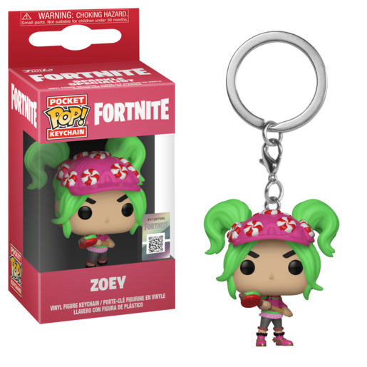 Funko Pocket Pop!: Fortnite Keychain - Zoey