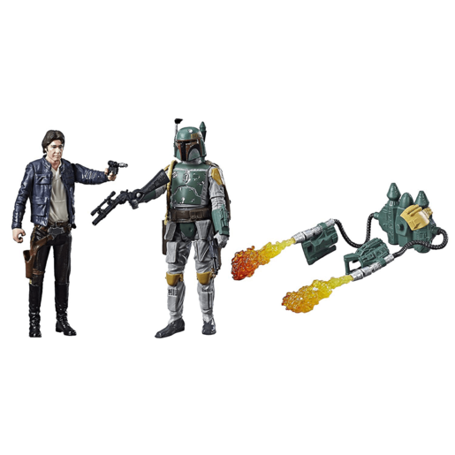 Star Wars Force Link - Han Solo and Boba Fett