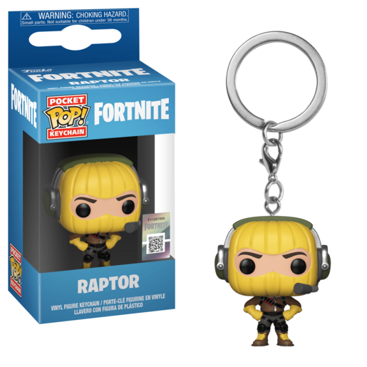 Funko Pocket Pop!: Fortnite Keychain - Raptor