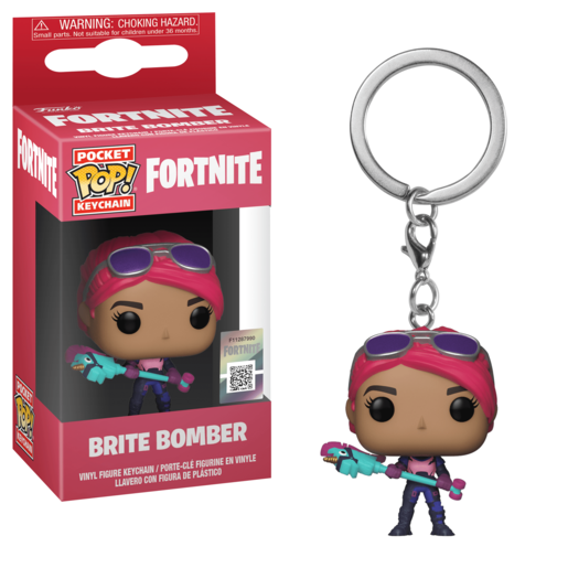 Funko Pocket Pop!: Fortnite Keychain - Brite Bomber