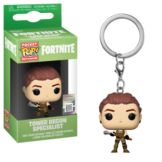 Funko Pocket Pop!: Fortnite Keychain - Tower Recon Specialist