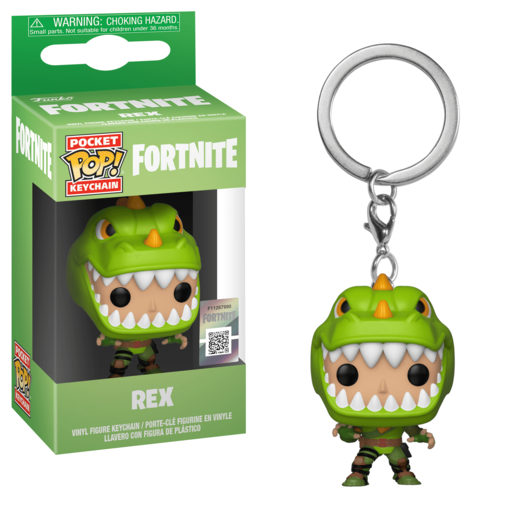 Funko Pocket Pop!: Fortnite Keychain - Rex