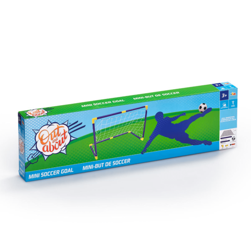 Out and About Mini Soccer Goal Set