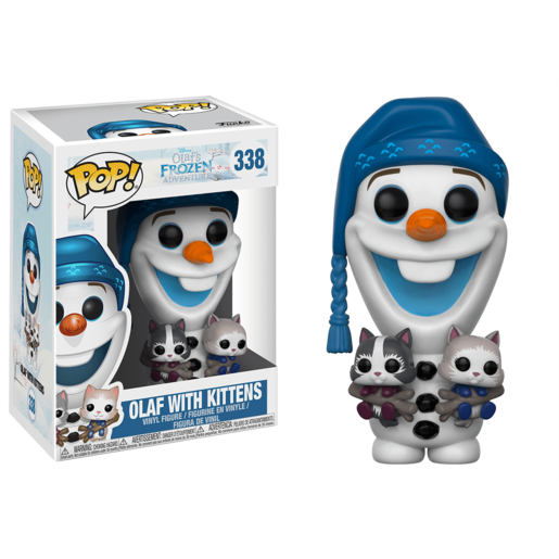 Funko Pop! Disney: Olaf's Frozen Adventure - Olaf With Kittens