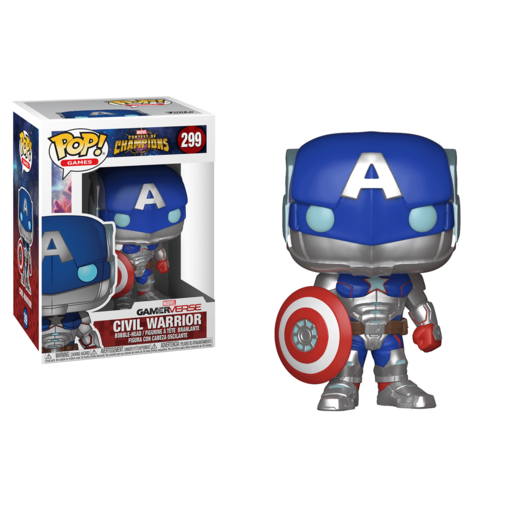 Funko Pop! Games: Marvel Contest Of Champions - Civil Warrior