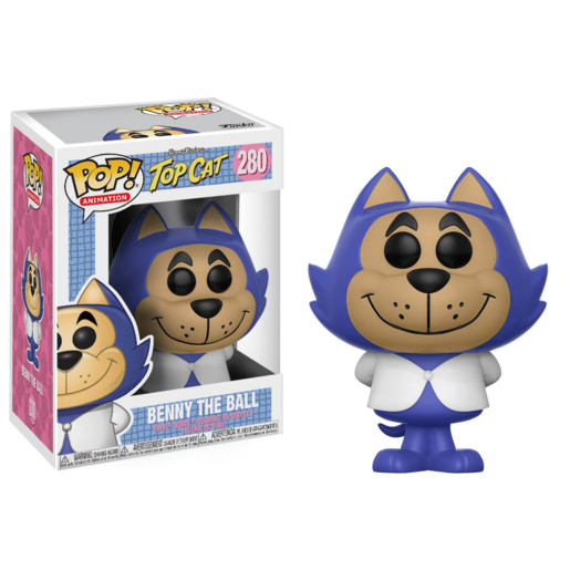 Funko Pop! Animation: Hanna-Barbera Top Cat - Benny The Ball