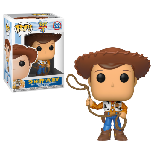 Funko Pop! Disney Pixar: Toy Story 4 - Sheriff Woody