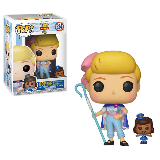 Funko Pop! Disney: Toy Story 4 - Bo Peep With Officer Giggle McDimples