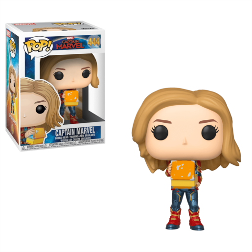 Funko Pop! Marvel: Captain Marvel - Captain Marvel with Lunchbox