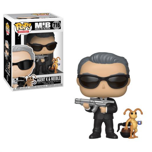 Funko Pop! Movies: Men In Black - Agent K And Neeble