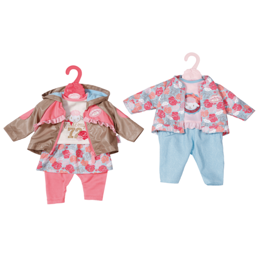 Baby Annabell Travel Jeans for 43cm Dolls (Styles Vary, One Supplied)